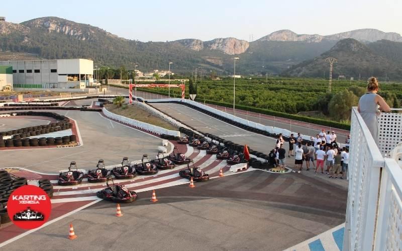 Karting Xeresa prueba resistencia